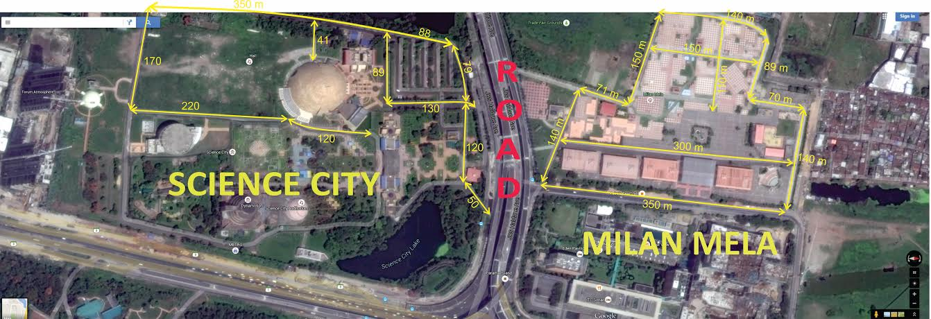 Google Map of Kolkata Venue